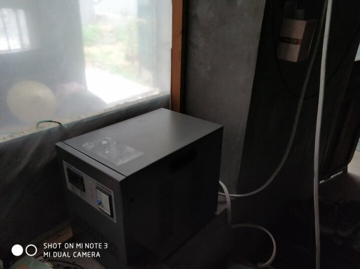 正泰(CHNT) 正泰空调稳压器5000w家用交流稳压电源单相220v全自动稳压器5KWTND1-5 晒单图