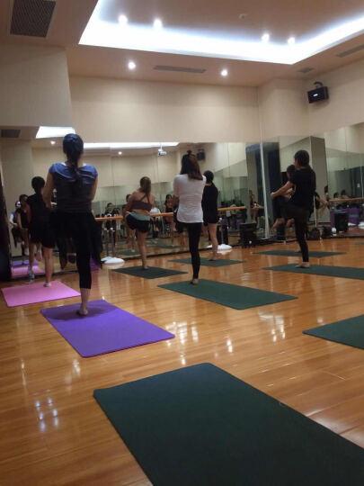 艾米达瑜伽服女套装大码健身房显瘦运动装专业舞蹈练功服广场舞服含胸垫 白色上衣 S 晒单图