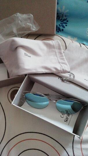 DIOR 迪奥 女款金色镜框茶色镜片太阳镜时尚镂空墨镜DiorSideral2 JB2HA 56mm 晒单图