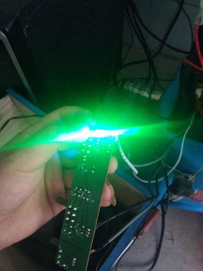 led灯珠发光二极管插脚信号指示灯水晶灯光源聚光F5mm圆头(100个) 雾状黄发黄 晒单图