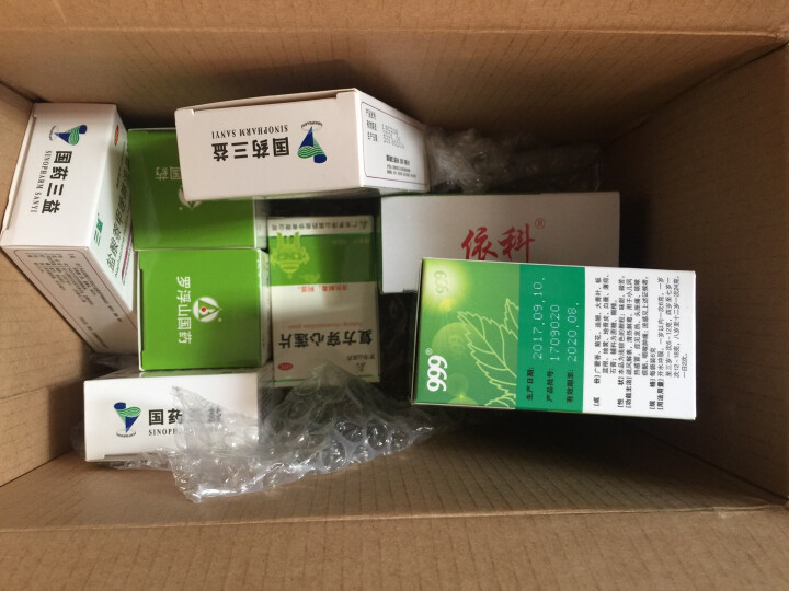 蜀中 盖克 藿香正气水 10支一盒装 晒单图