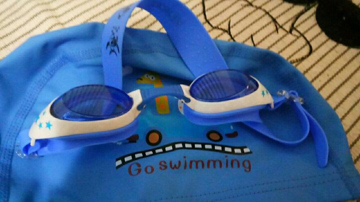 羽克(Yuke) 羽克 儿童泳镜 女童男童防水防雾游泳眼镜 星星卡通游泳镜 潜水镜YK1700-泳镜 蓝色1 晒单图