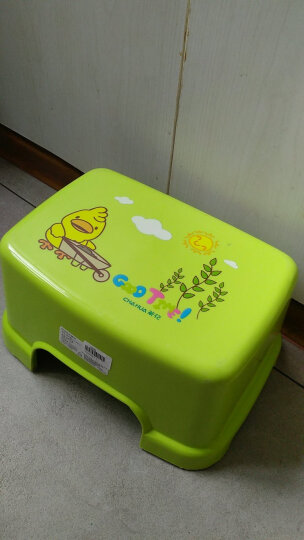 茶花 塑料小凳子欧式儿童凳 0806 晒单图