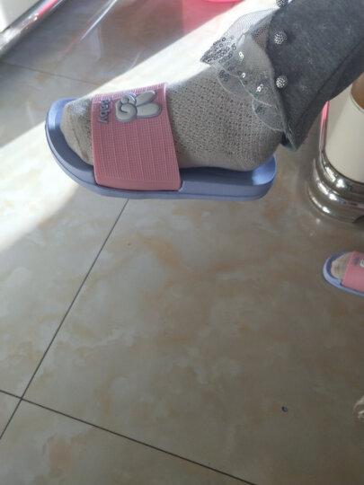 新款EVA拖鞋女夏季亲子卡通凉拖鞋女儿童居家浴室防滑厚底一家三口凉拖鞋男 蓝色(男士) 42 晒单图