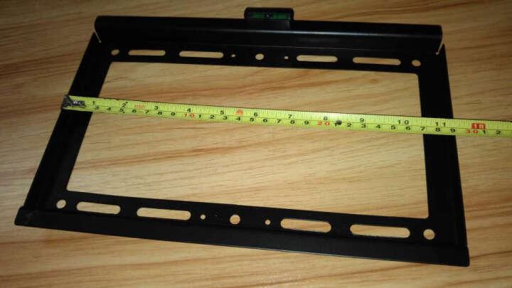 卡步特 电视挂架 电视墙壁支架 P17-3孔距20*20cm30KG内15-37寸 晒单图
