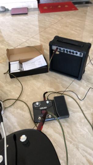 艾薇儿(Avril) 24品单摇电吉他手提新手初学入门演奏电吉他套装黑白色免费刻字货到付款 套餐四 电吉他+GT桌面蓝牙吉他音响(颜色备注) 晒单图