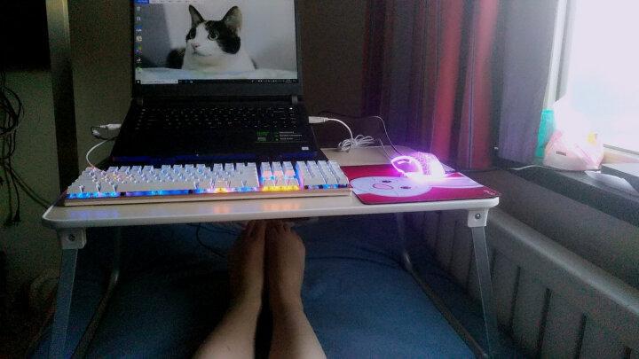 赛鲸(XGear) 笔记本床上电脑桌 书桌学习桌 折叠懒人桌子 大桌面 H70增强版 晒单图
