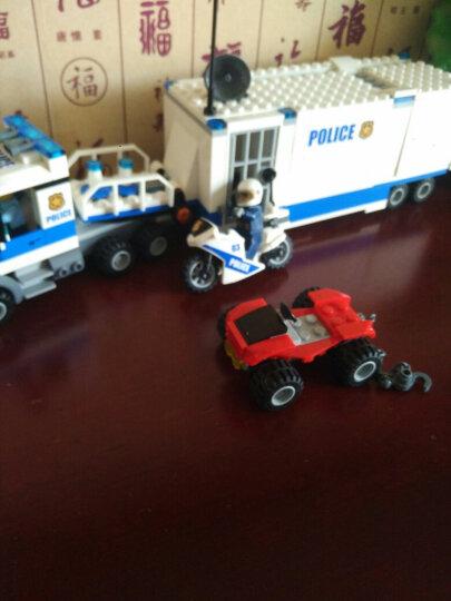乐高(LEGO)积木玩具 城市警察系列 60137 追踪重型拖车 晒单图