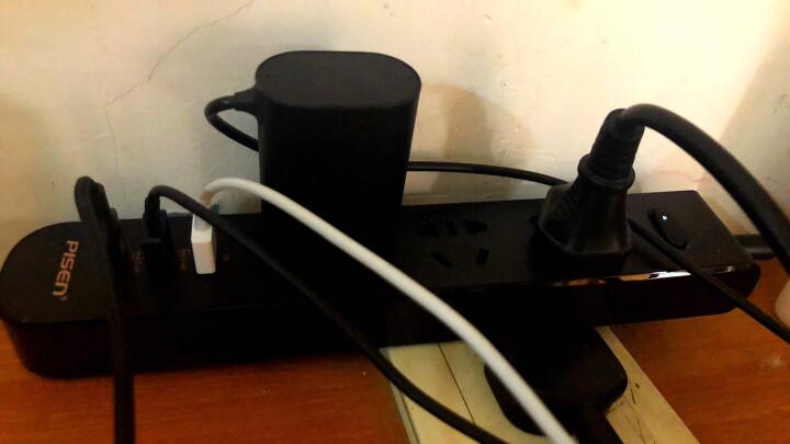 品胜(PISEN) 品胜/Pisen插线板USB智能排插303/K23生活插座带线长1.8米 303 黑色 晒单图