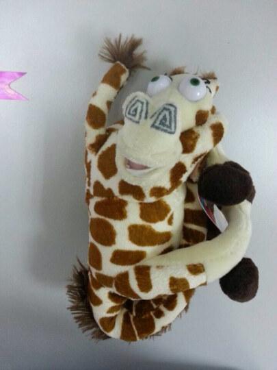 Madagascar马达加斯加长颈鹿企鹅狮子河马斑马布娃娃玩偶 儿童毛绒玩具公仔送女孩节日礼物 企鹅27厘米 晒单图