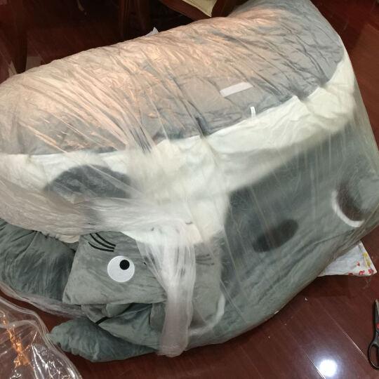 艾乐芙 卡通猫榻榻米床垫懒人沙发地板单人双人家居睡垫可拆洗大号靠垫儿童睡袋春秋款 A闭嘴款 晒单图