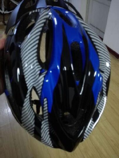 跑狼 骑行头盔 常规版自行车头盔山地车头盔一体成型 男女款 骑行装备 自行车 蓝色 晒单图