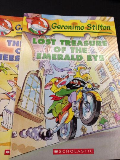 Geronimo Stilton #7: Red Pizzas for a Blue Count  老鼠记者系列7:忧郁伯爵的红披萨   晒单图