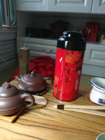 薪传香 台北坪林东方美人茶 进口台湾茶 膨凤茶 台湾茶叶 蜜香白毫乌龙75g 晒单图