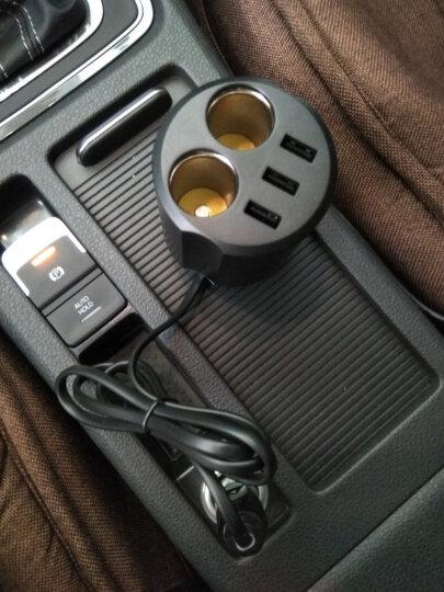 联想HC07车载充电器车充杯 汽车多功能车充点烟器一拖二 三USB智能电流输出60W大功率 晒单图