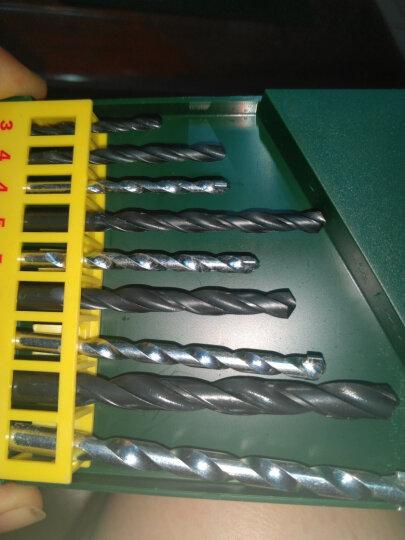 博世(Bosch)5支装圆柄冲击钻电锤石工钻头套装 9支混合装石工钻头手电钻金属麻花钻头 9支混合钻头盒装(4支麻花钻头+5支石工钻头) 晒单图