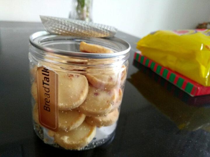 面包新语 手工曲奇饼干零食8味礼盒 165g 椰丝脆饼120g 晒单图