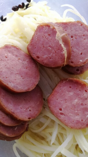 秋林食品公司儿童肠 1200g 哈尔滨特产 纯瘦肉红肠  原厂包装 晒单图