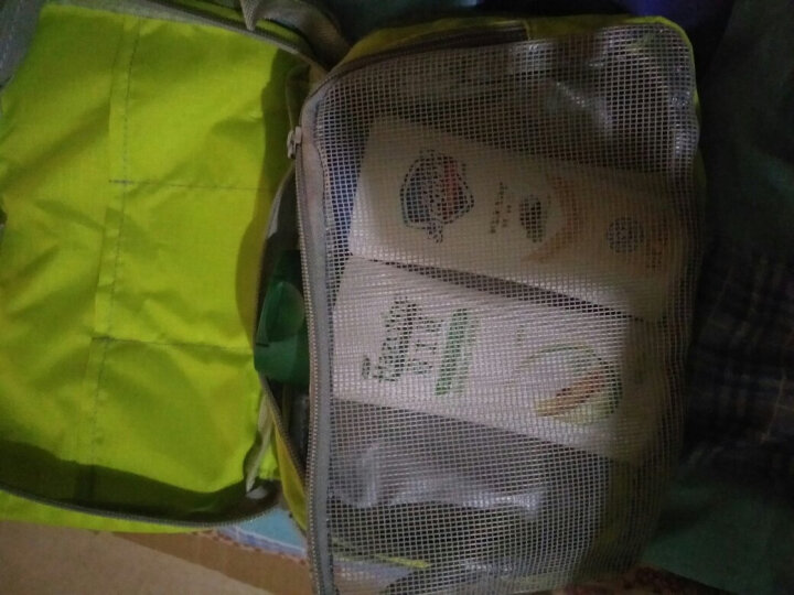 WELLHOUSE 洗漱包旅行男女化妆包收纳包折叠轻便旅游出差用品 果绿小号 晒单图