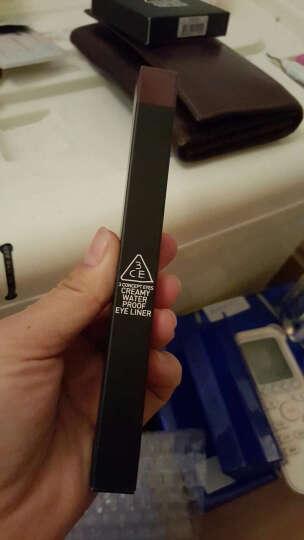 3ce 【半价清仓】韩国3CE 防水眼线笔持久WATER PROOF EYELINER 14 REBECCA 晒单图