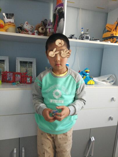 鸿星尔克(ERKE) 童装儿童卫衣T恤男童圆领套头衫青少年长袖卫衣 碧绿 130 晒单图