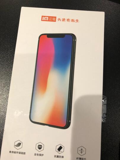 江铭苹果XS MAX手机壳iPhone8Plus防摔软XR保护套6s磨砂7手机套卡通薄女款创意可爱 苹果X-英伦汽车 晒单图