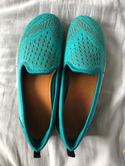 ECCO爱步 女鞋时尚活力舒适户外休闲运动鞋女鞋 盈速缘 862233 蓝绿色86053359795 35 晒单图