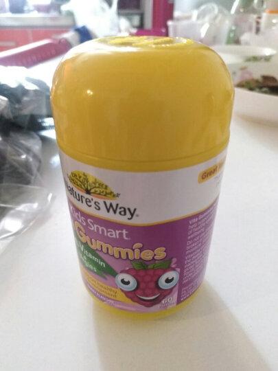 Nature's Way Kids Smart佳思敏儿童软糖系列 儿童复合维生素+蔬菜营养片 60粒 晒单图
