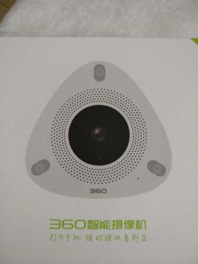 360 智能摄像机 看店宝 网络wifi监控高清摄像头 红外夜视 四分屏全景远程监控 智能报警 哑白 晒单图