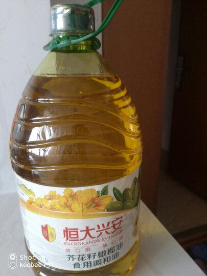 恒大兴安 食用油 芥花籽橄榄 调和油 5L 晒单图