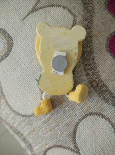 两件包邮-颐然(YIRA) 创意包邮韩国卡通树脂儿童可爱小熊磁铁立体贴磁铁吊脚娃娃冰箱贴 星星熊(紫色) 高9CM*宽4.5CM 晒单图