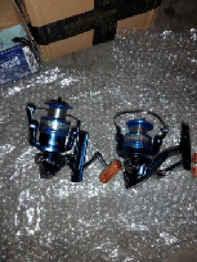渔掌门 希诺蓝色1000-7000纺车轮渔轮金属头鱼轮10+1轴承鱼线轮渔线轮海竿轮钓鱼轮 3000型 晒单图