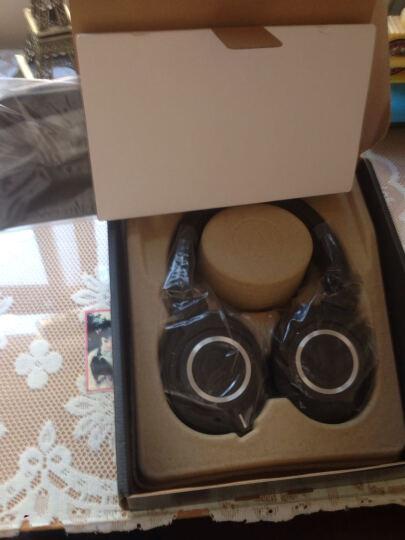 铁三角(Audio-technica)ATH-M50X BK 头戴式专业全封闭监听音乐HIFI耳机 黑色 晒单图