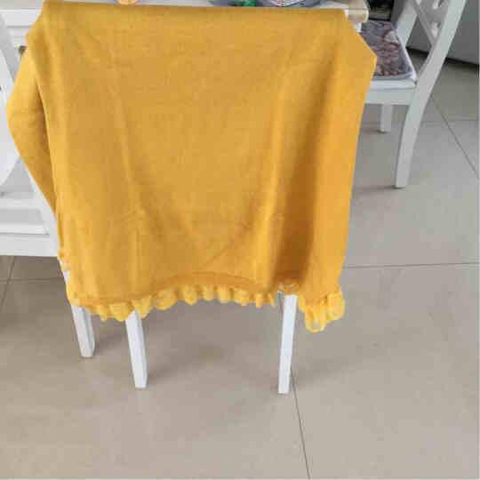 唛芭芘孕妇装秋装上衣韩版毛衣中长款针织衫春秋套头孕妇毛衫7001 黄色 XL 晒单图