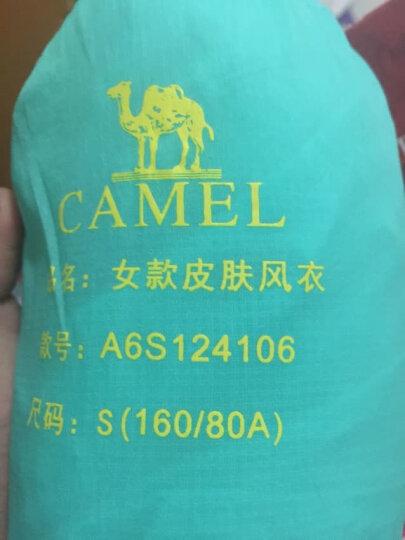 骆驼 CAMEL 户外皮肤衣 范冰冰同款 春夏轻薄女款防风皮肤风衣 A6S124106 粉蓝 S 晒单图