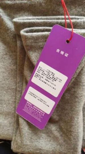 恒源祥 平板时尚打底裤女士秋冬季外穿弹力显瘦长裤子 白色 CI130686 均码 晒单图