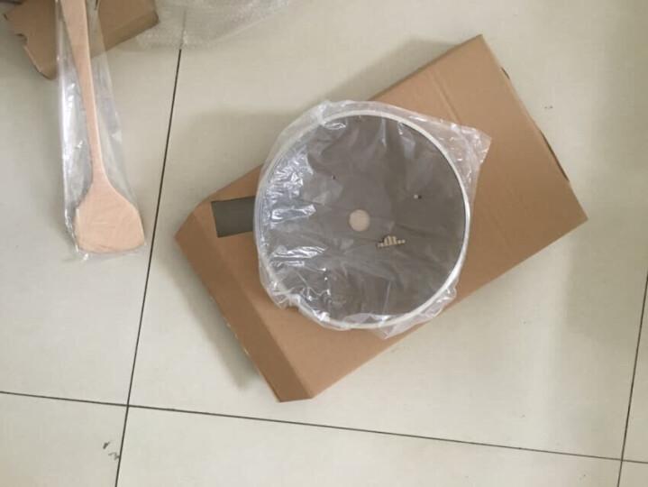 钻技(ZUANJ) 进口不粘锅 炒锅30CM少油烟不粘煎炒锅可立式锅盖 燃气电磁灶通用ZJ-GNW30 赠送木铲 晒单图