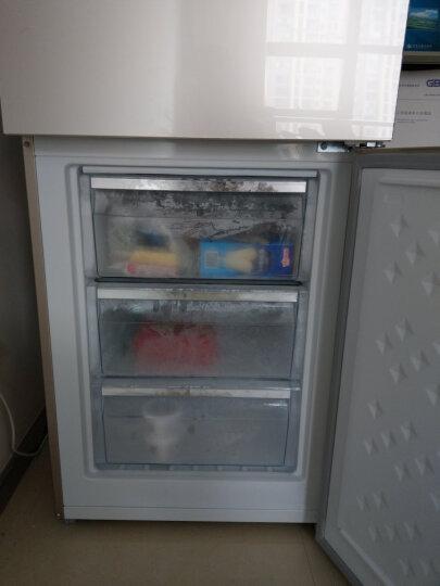 松下(Panasonic)风冷无霜两门冰箱 玻璃面板 急速冷冻BCD-301WGBA(NR-B290JD) 晒单图
