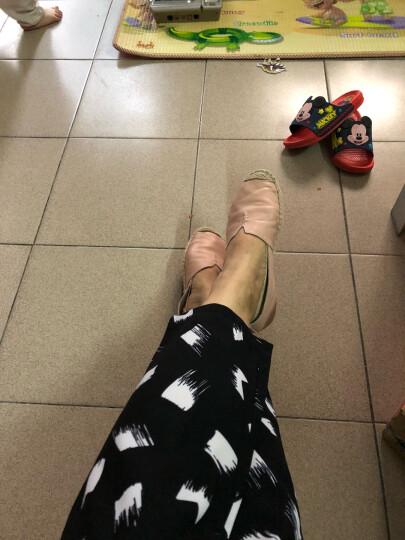 Tata/他她休闲鞋一脚蹬懒人渔夫鞋平底单鞋2FY35AQ7 粉色 36 晒单图