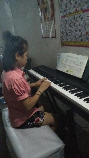 雅马哈电钢琴P48重锤88键成人儿童数码智能电子钢琴 P48主机+单踏板+双人琴凳等全套配件 晒单图