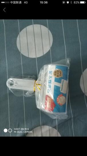 美丽雅 促销装除尘器 (赠替换装x2个) 斜撕式粘尘纸 滚毛器粘毛滚筒 HC051959 晒单图