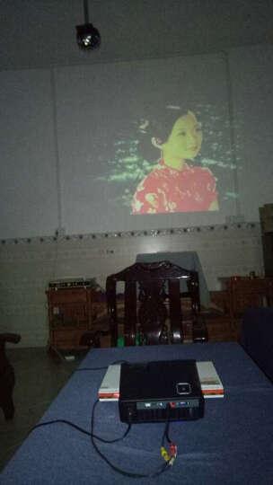 Rigal 瑞格尔投影机 家庭影院WiFi手机无线蓝牙投影仪办公 家用HDMI高清接口 U盘直读 标配版无wifi无手机同屏黑色810 晒单图