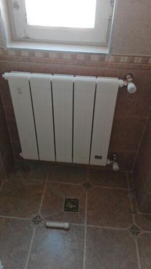 欧朗德 暖气片 铜铝复合 双水道 暖气 1845mm高 晒单图