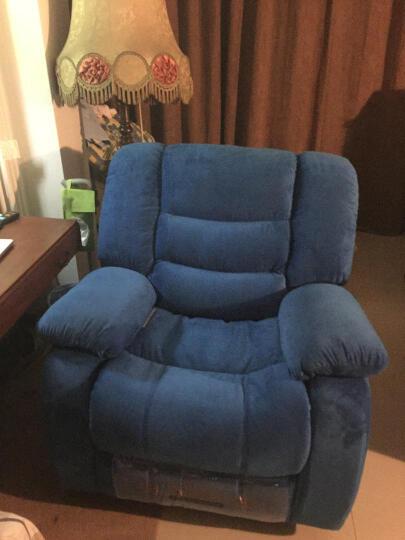 非众 多功能沙发单人位懒人可伸展摇转沙发椅太空飞机舱布艺沙发 别墅家庭影院工程沙发影院座椅 规格 手动伸展+摇动+旋转 晒单图