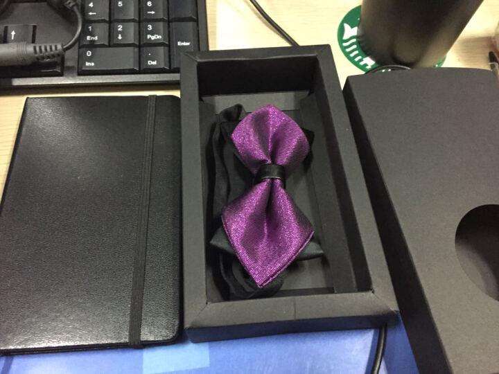 APROOM领结 英伦结婚庆新伴郎 男女士正装蝴蝶双层领带结送礼盒装APLJ384 A款 晒单图