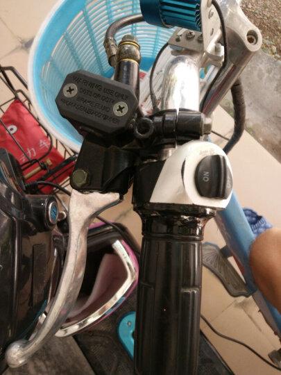 梦奇 电动摩托车电动自行车左右上下前后碟刹泵改装刹车泵上泵总成油刹 迅鹰右10MM 晒单图