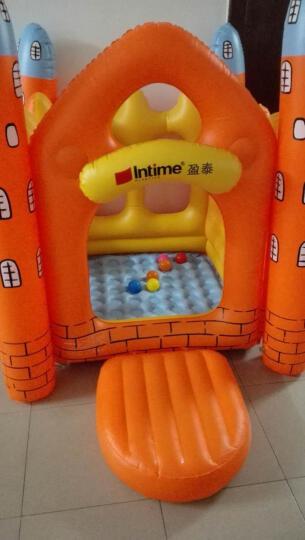 盈泰儿童充气城堡乐园大型游乐场游戏屋玩具幼儿园淘气堡 城堡+电泵+脚泵+500个海洋球 晒单图