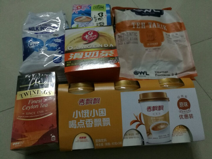3点1刻 三点一刻 中国台湾 冲饮 速溶饮品 回冲奶茶粉 沖繩黑糖奶茶 100g 晒单图