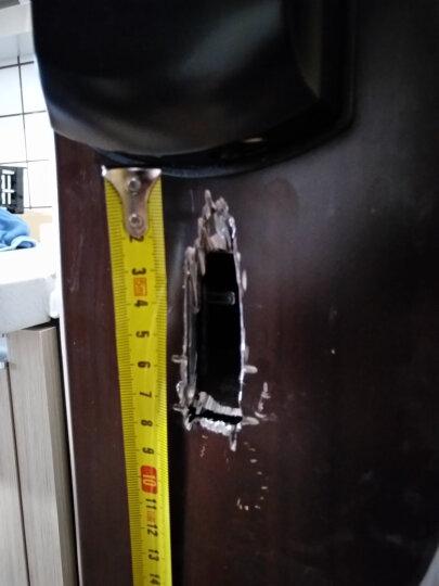 玛莎洛克 【包安装】德国指纹锁防盗门家用智能电子密码刷卡门锁 指纹识别密码锁 MS-P9 红古铜(加APP远程开锁) 晒单图