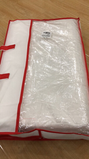 雅鹿·自由自在 枕头枕芯家纺 泰国天然乳胶枕头 花型波浪释压按摩颗粒枕芯 内套+枕芯+枕套 60*40cm 晒单图
